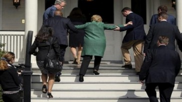 2016-08-14_1455 Hillary Clinton being helped up stairs 2016