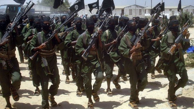 2017-05-05_1238 Al-Shabab fighters in Somalia via AFP