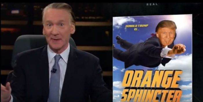 2017-05-21_2047 Bill Maher Orange Sphincter